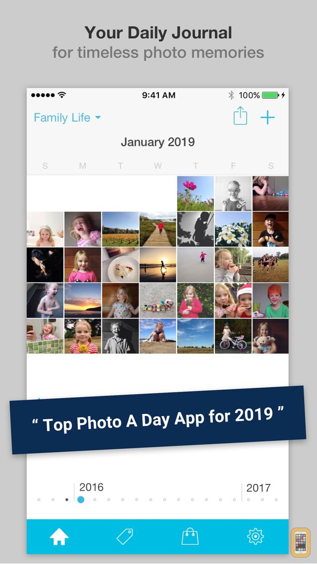 Screenshot - Collect - Photo Journal & Everyday Picture Diary