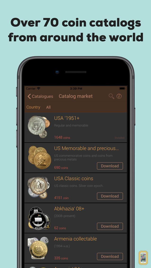 Screenshot - World coins (aguru.pro)