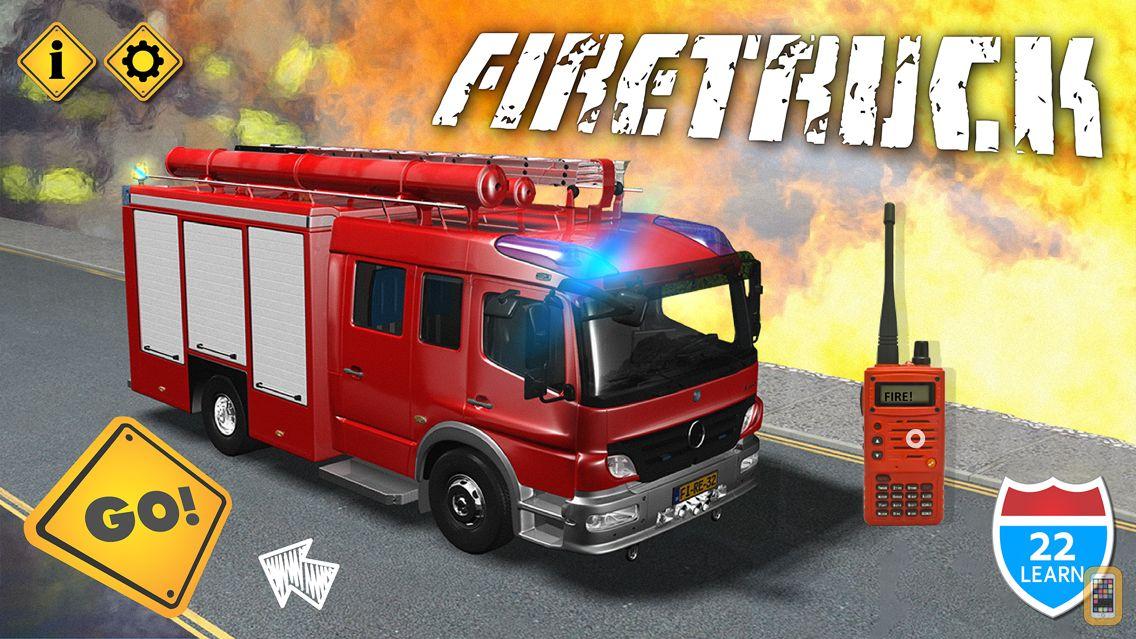 Screenshot - Kids Vehicles Fire Truck games