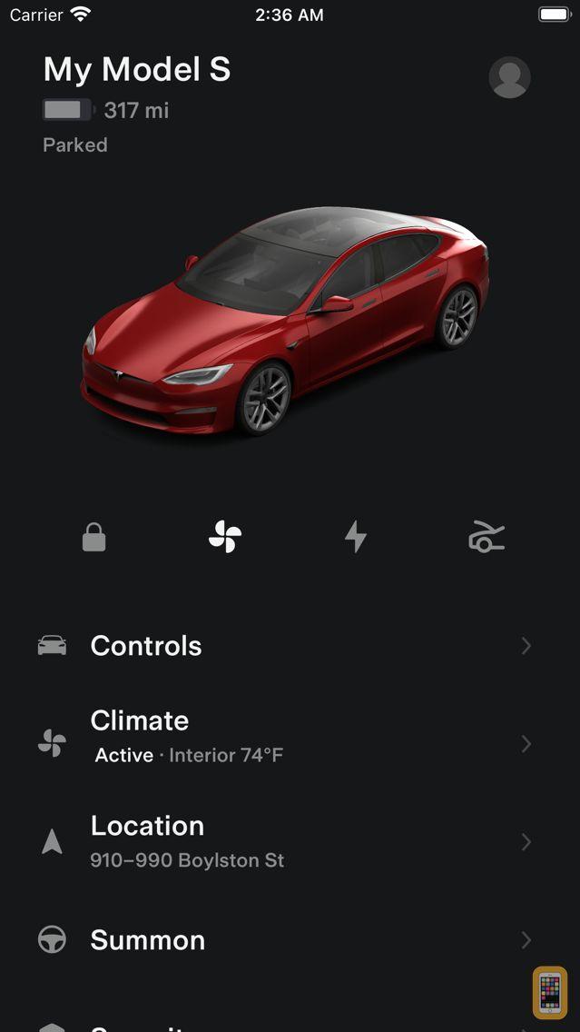 Screenshot - Tesla