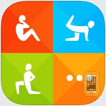 Instant Fitness: Workout Trainer by Azumio Inc. (iPhone)