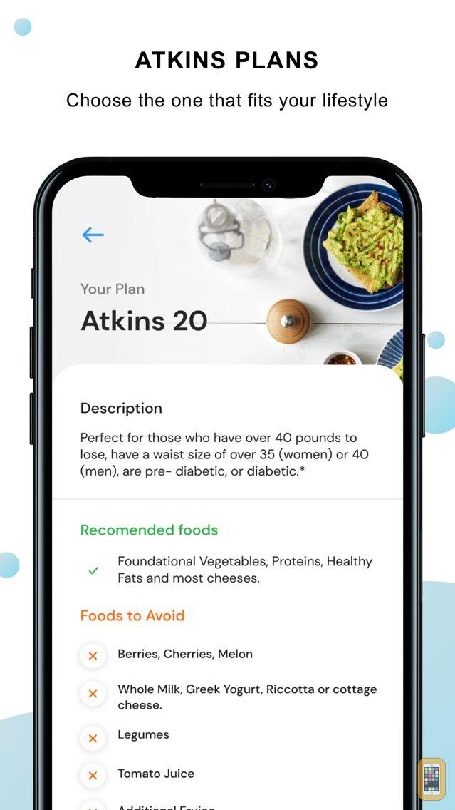 Screenshot - Atkins® Carb & Meal Tracker