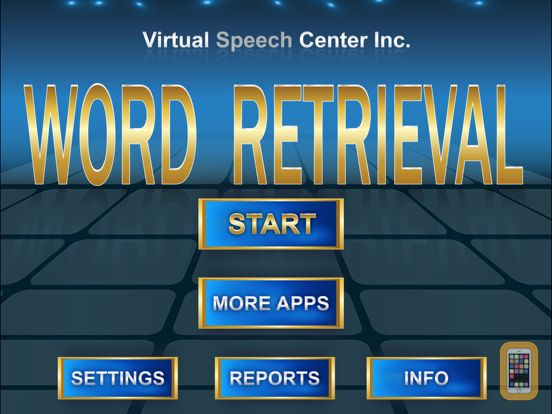 Screenshot - Word Retrieval