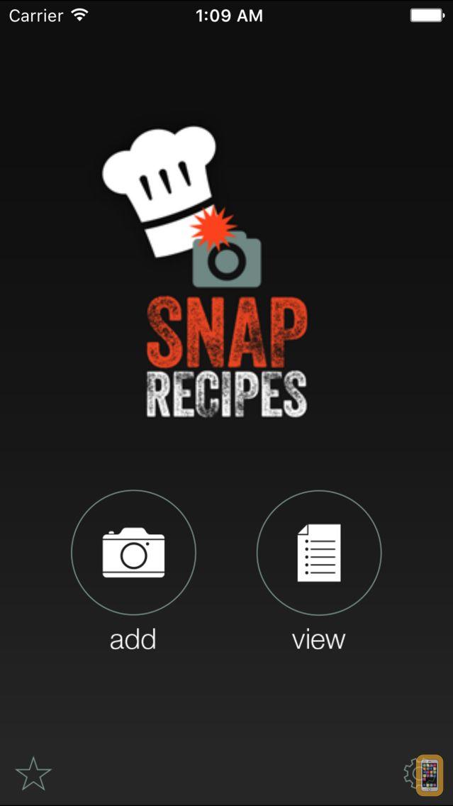Screenshot - SnapRecipes