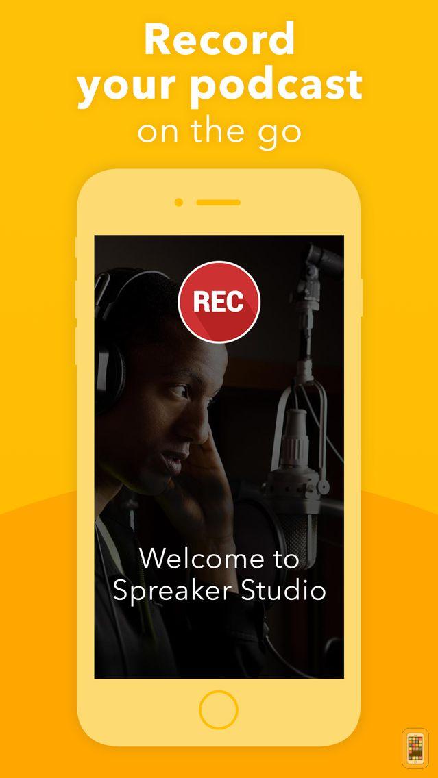 Screenshot - Podcast Studio by Spreaker