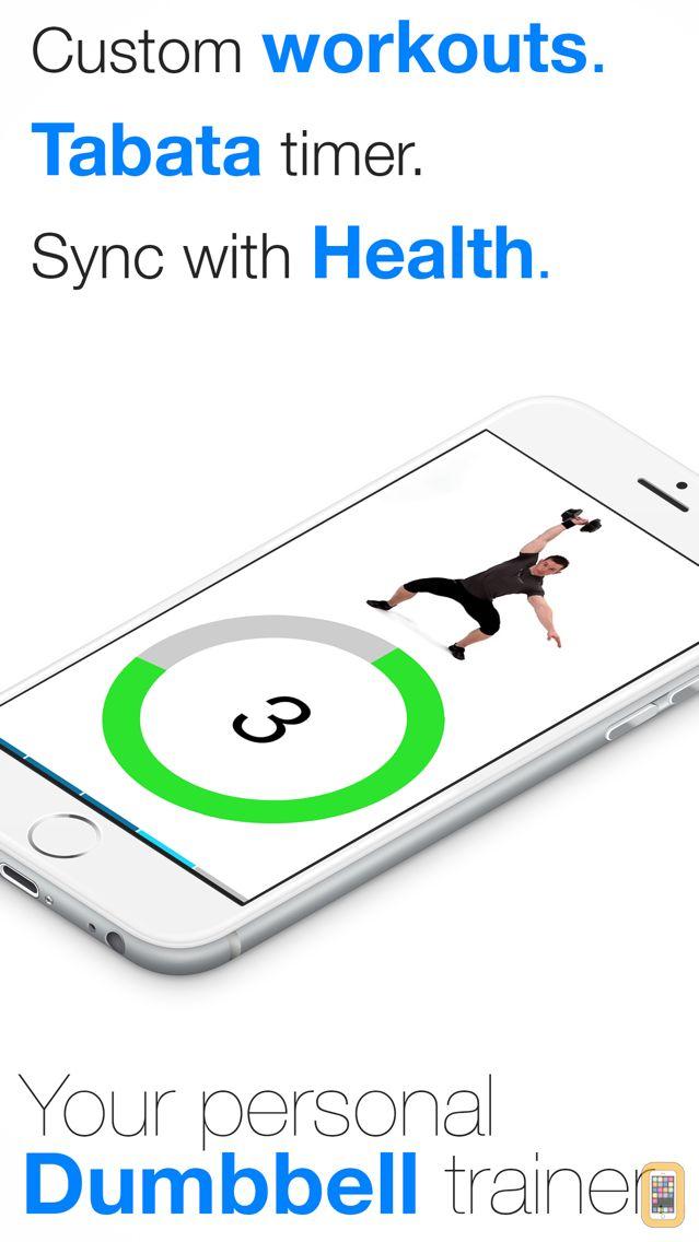 Screenshot - Virtual Trainer Dumbbell