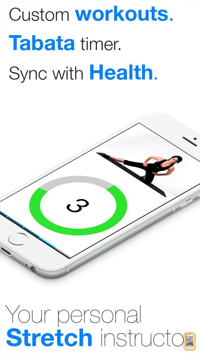 Screenshot - Virtual Trainer Stretch