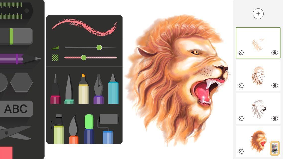 Screenshot - Drawing Desk: Draw & Paint Art