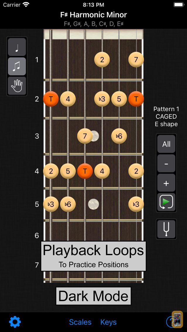Screenshot - Guitar Scales Power