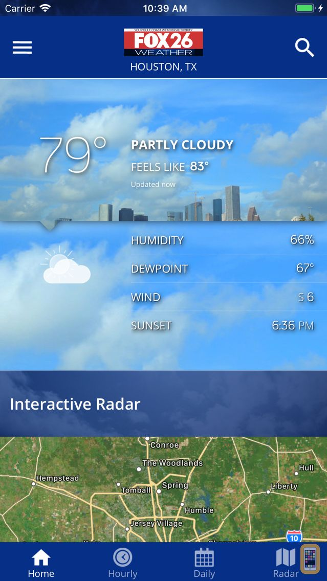 Screenshot - Fox 26 Houston Weather – Radar
