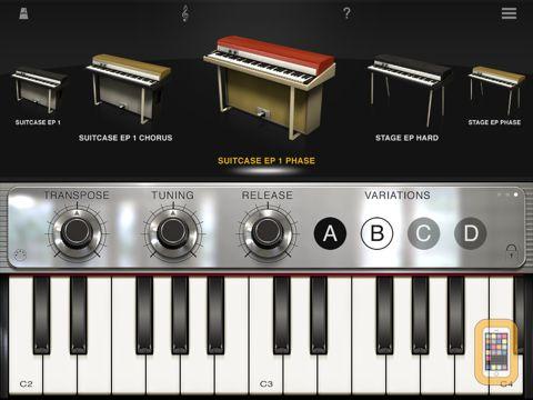 Screenshot - iLectric Piano for iPad