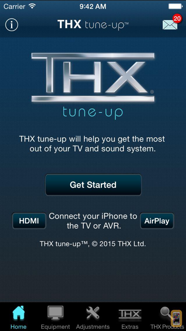 Screenshot - THX tune-up™