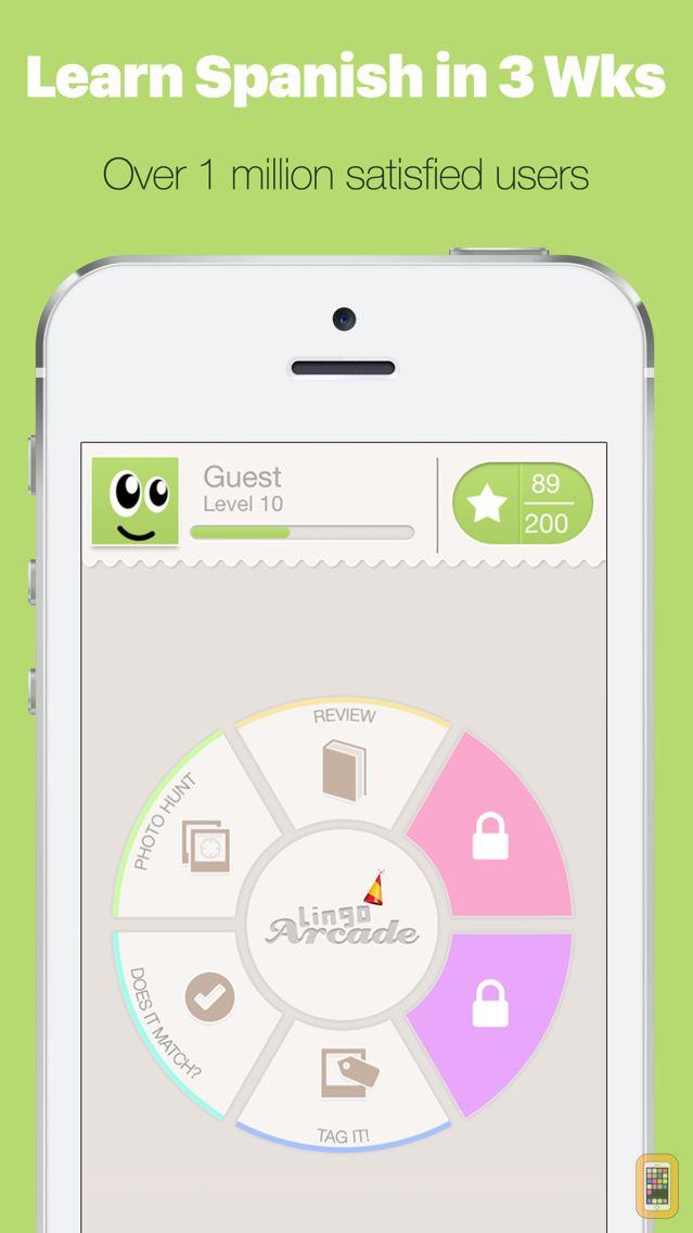 Screenshot - Learn Spanish with Lingo Arcade
