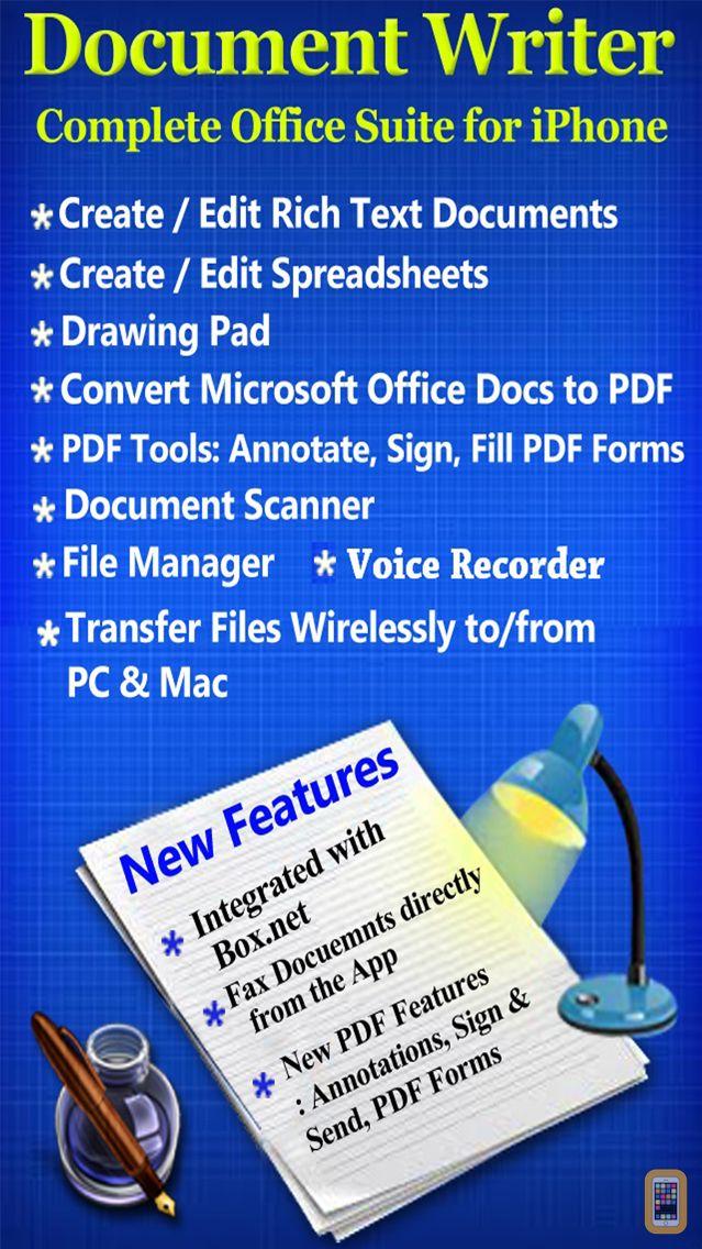 Screenshot - Document Writer for Microsoft Office - Word & PDF