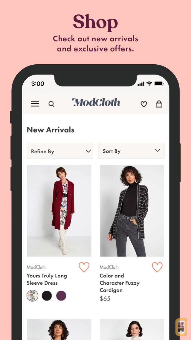 Screenshot - ModCloth: Shop Unique Clothing
