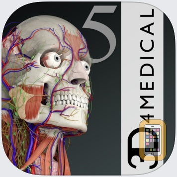 Essential Anatomy 5 by 3D4Medical from Elsevier (Universal)