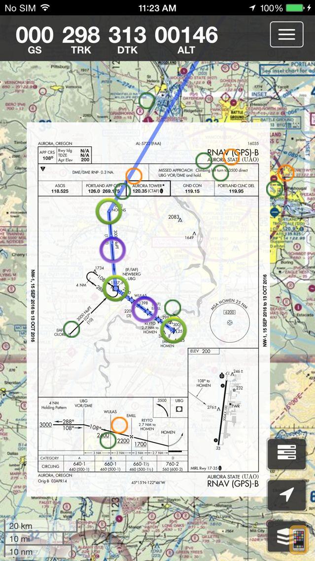 Screenshot - SkyCharts XC EFB