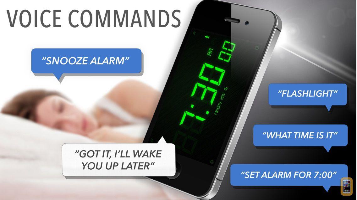 Screenshot - SpeakToSnooze Alarm Clock Pro