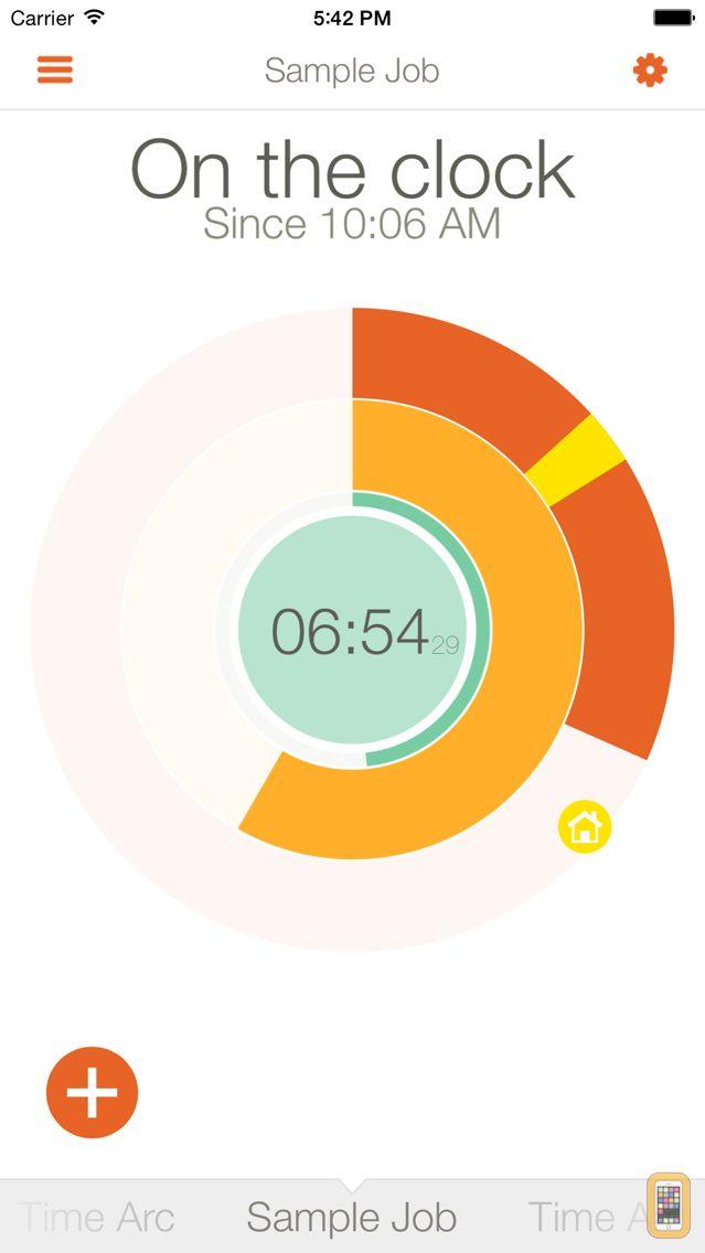 Screenshot - Time Arc - Time Tracking
