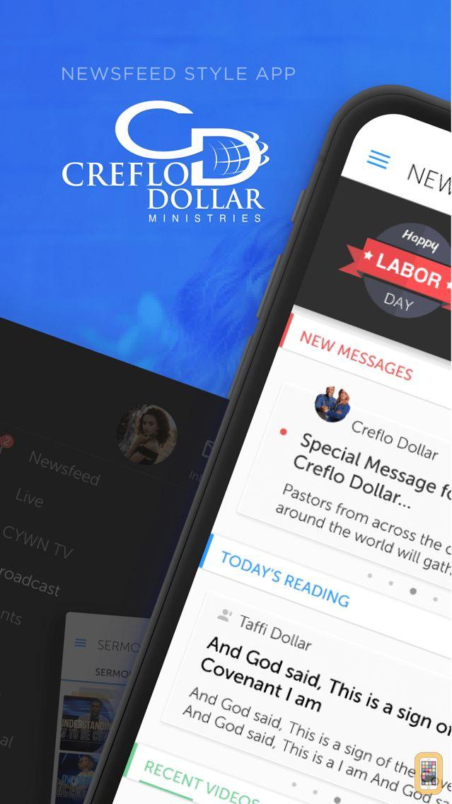 Screenshot - Creflo Dollar Ministries