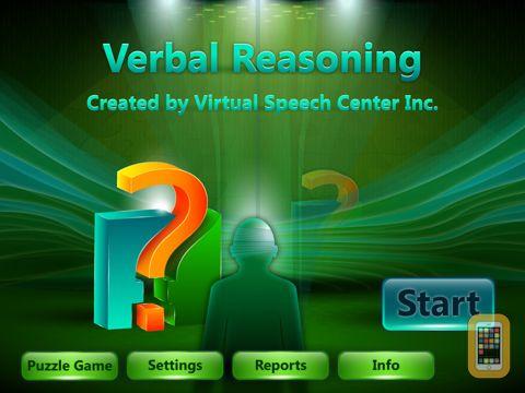 Screenshot - Verbal Reasoning