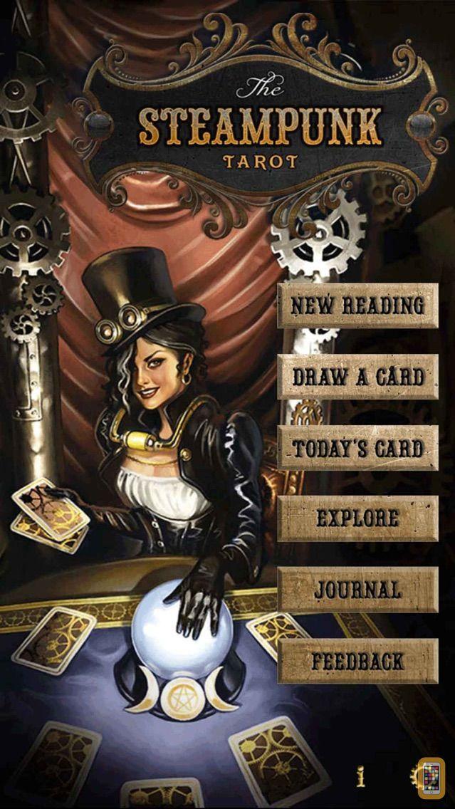 Screenshot - Steampunk Tarot