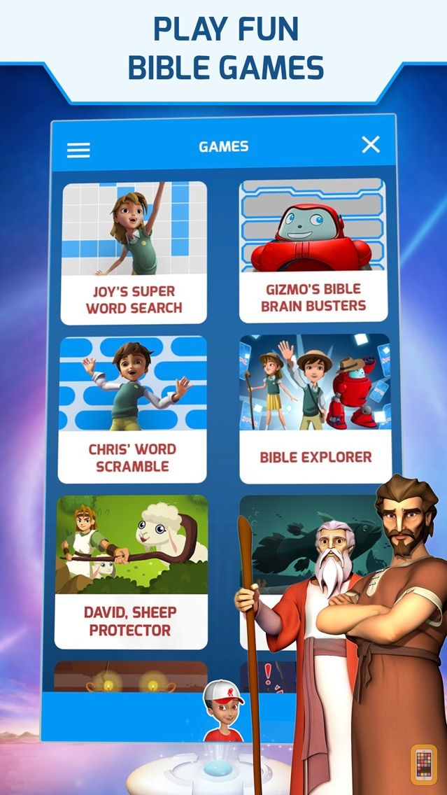 Screenshot - Superbook Kids Bible
