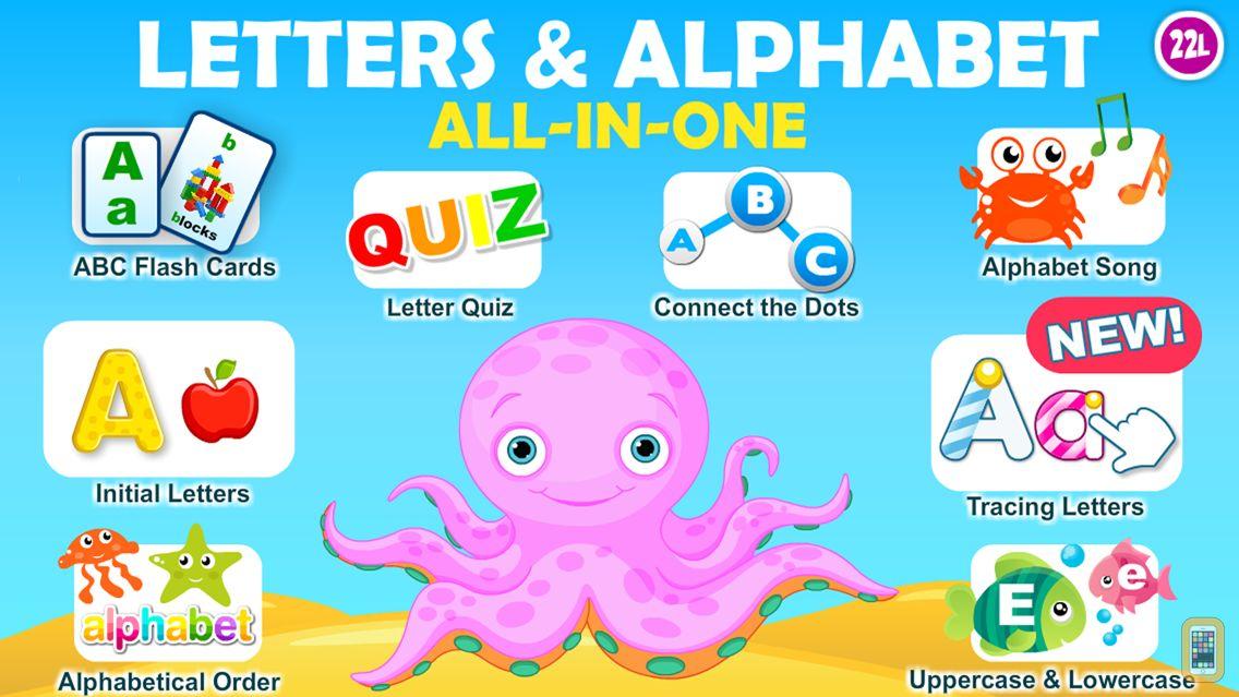 Screenshot - Letter quiz • Alphabet School & ABC Games 4 Kids