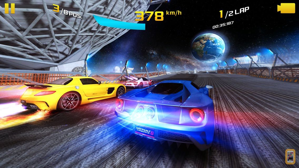 Screenshot - Asphalt 8: Airborne