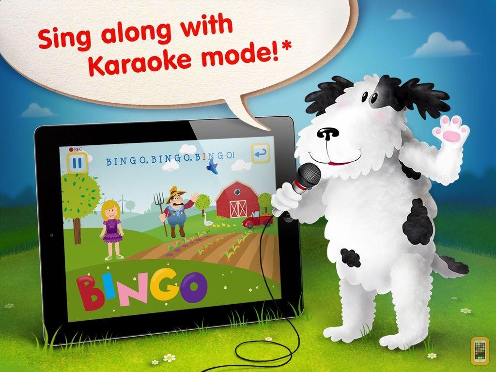 Screenshot - Bingo ABCs alphabet phonics song with farm animals cards HD