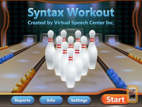 Screenshot - Syntax Workout