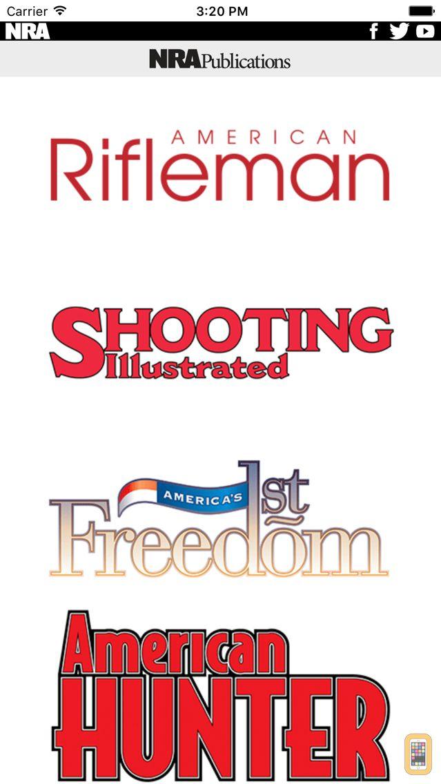 Screenshot - NRA Magazines