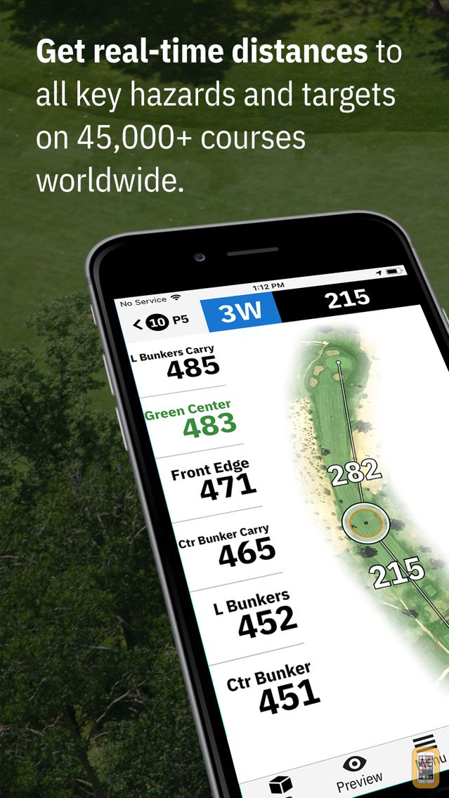 Screenshot - Golfshot: Golf GPS + Caddie