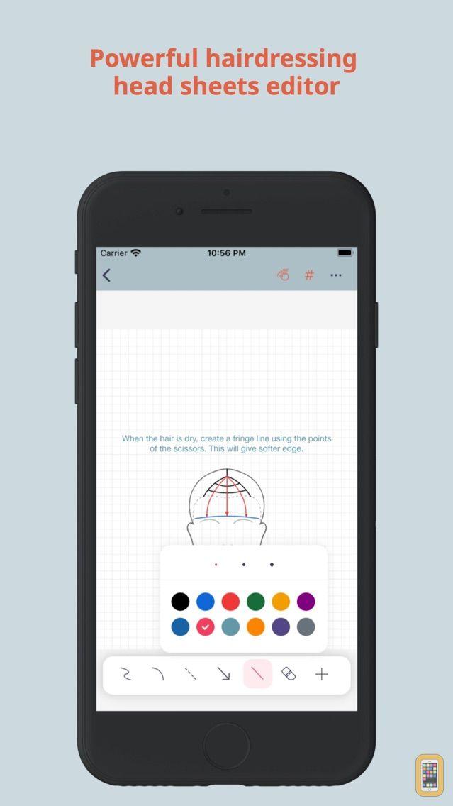 Screenshot - HairTech-Head Sheets
