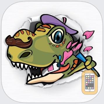 Paint & Play: Dinosaur Train by Swipea Kids Apps (Universal)