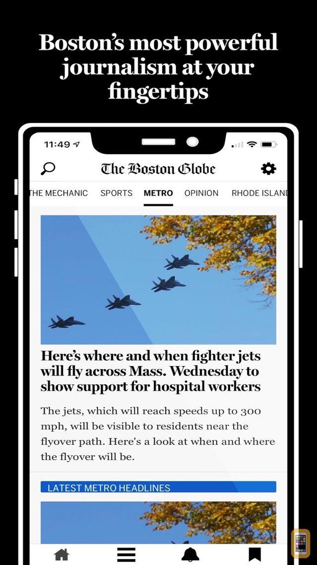 Screenshot - The Boston Globe