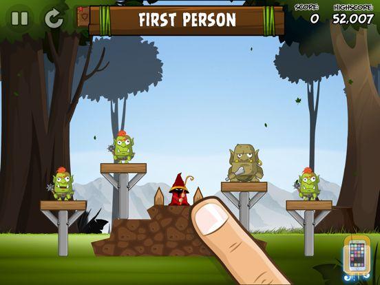 Screenshot - Siege Hero Wizards HD