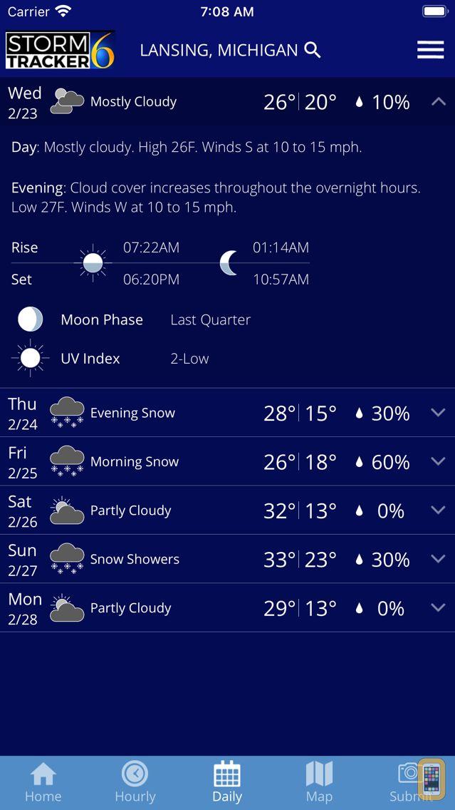 Screenshot - StormTracker 6 - Weather First