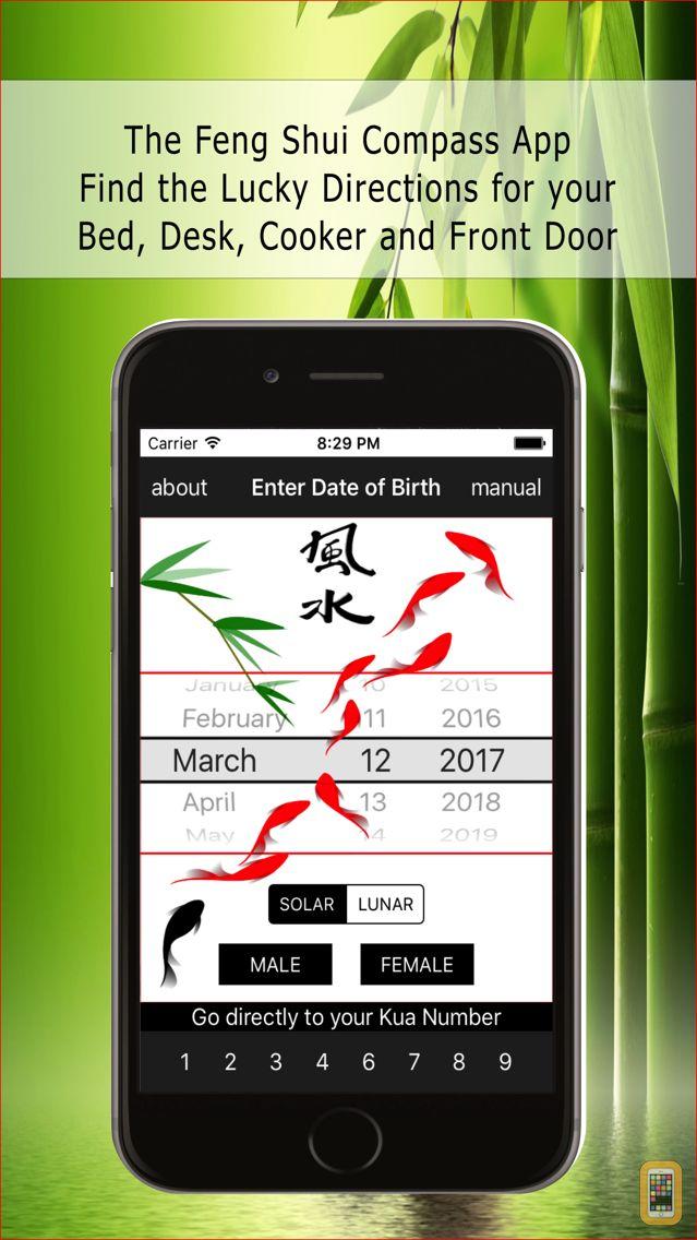Screenshot - Feng Shui Kua Compass