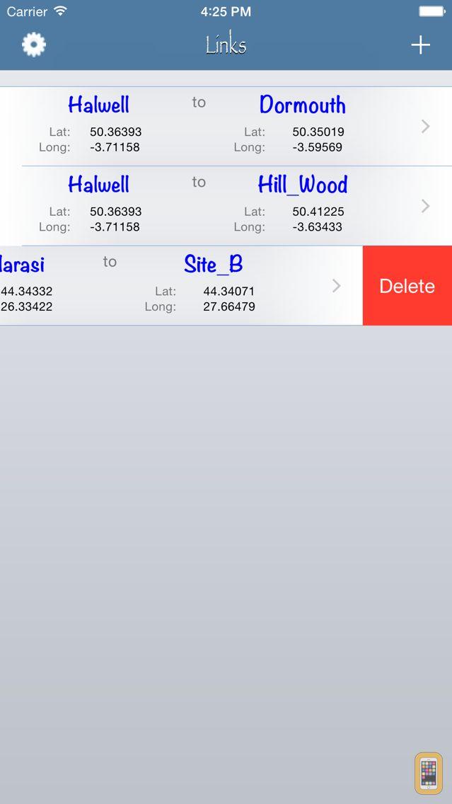 Screenshot - RF Haversine - Radio Profile