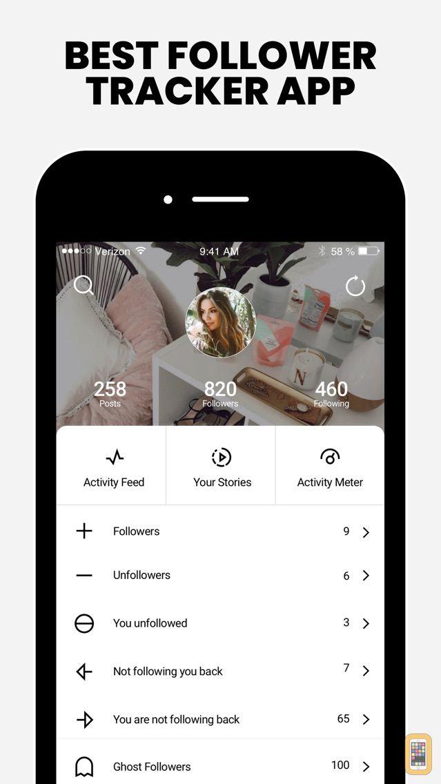 Screenshot - FollowMeter for Instagram