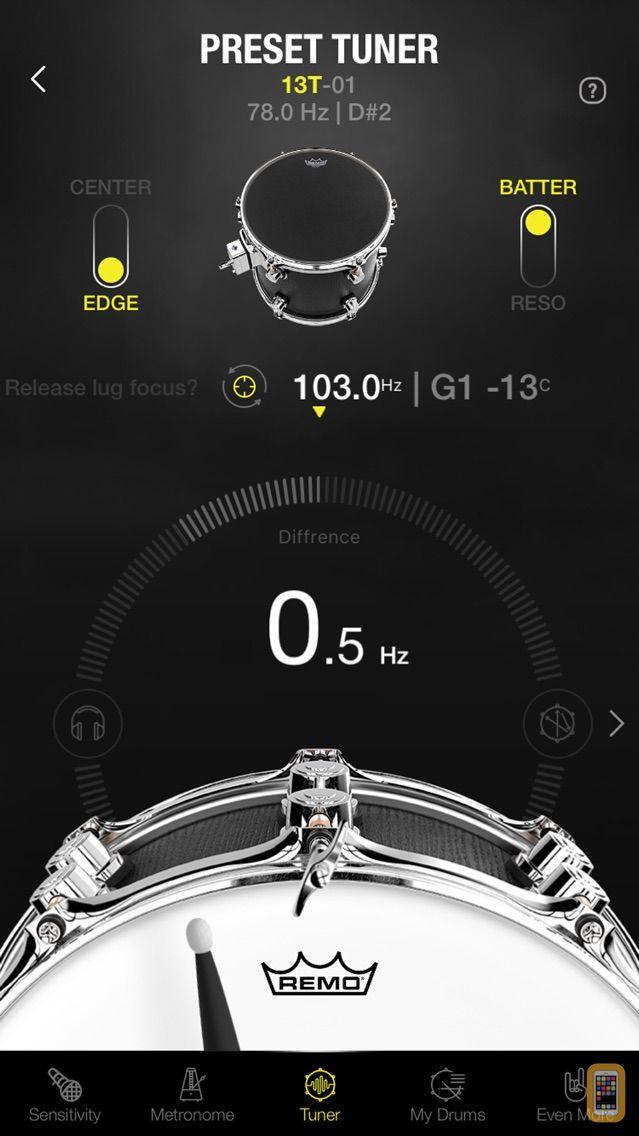 Screenshot - Drumtune PRO | Drum Tuner