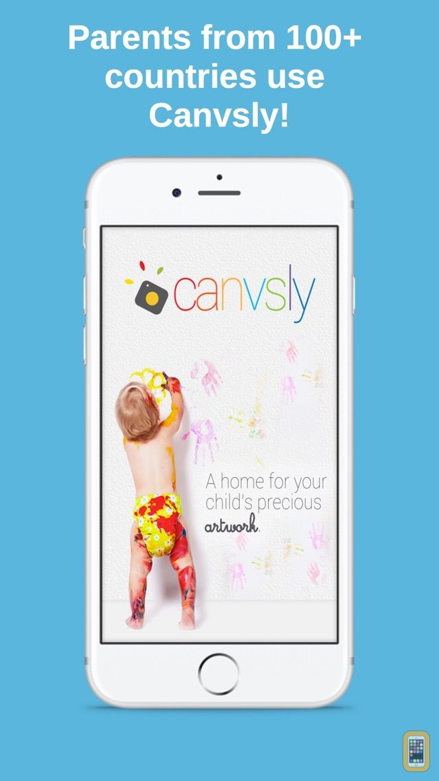 Screenshot - Canvsly - Save Kids Artwork