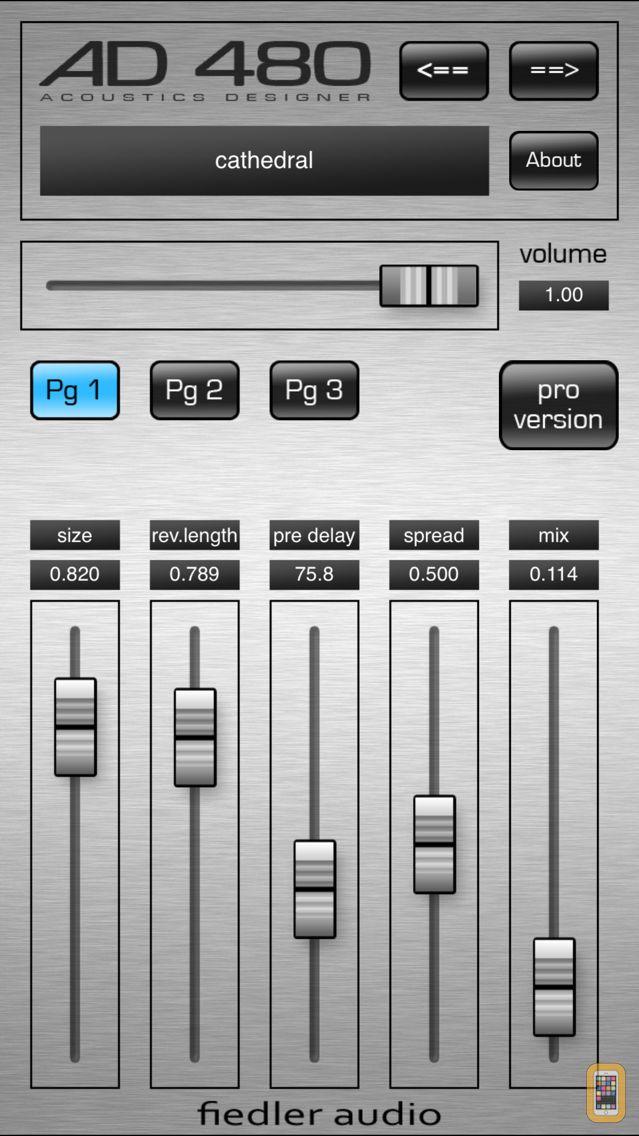 Screenshot - AD 480 basic - Studio Reverb