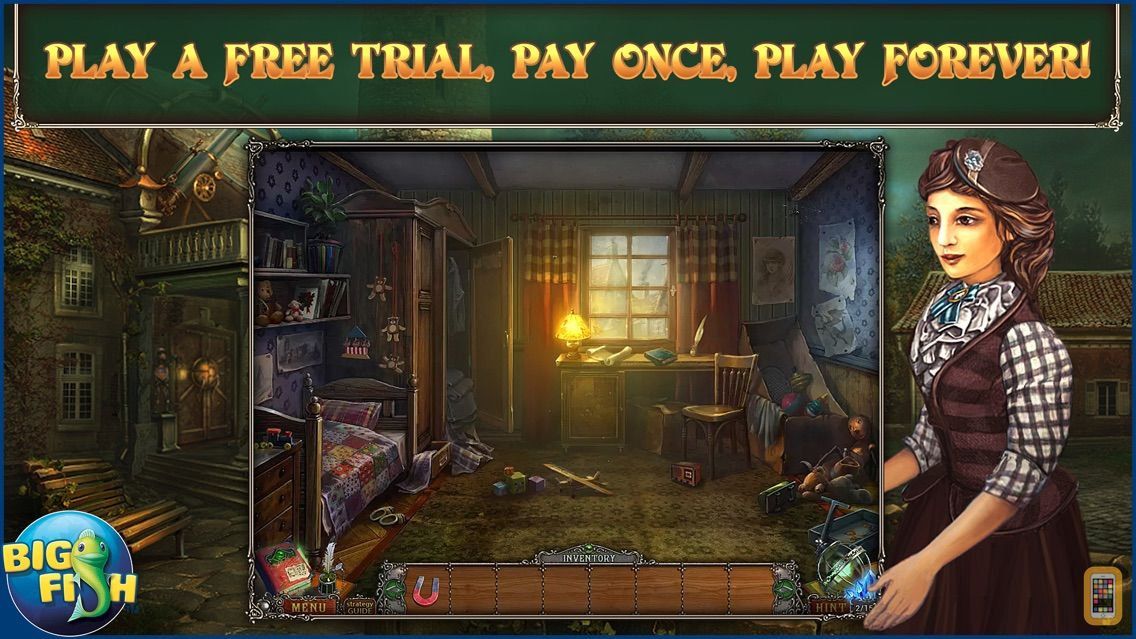 Screenshot - Whispered Secrets: The Story of Tideville - A Mystery Hidden Object Game
