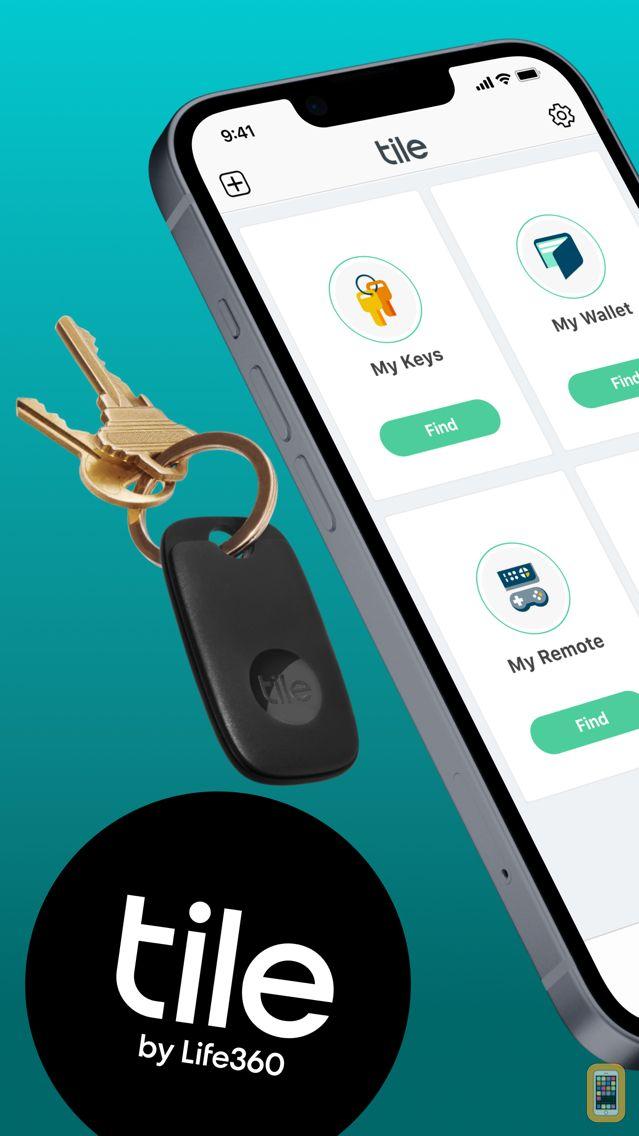 Screenshot - Tile - Find lost keys & phone