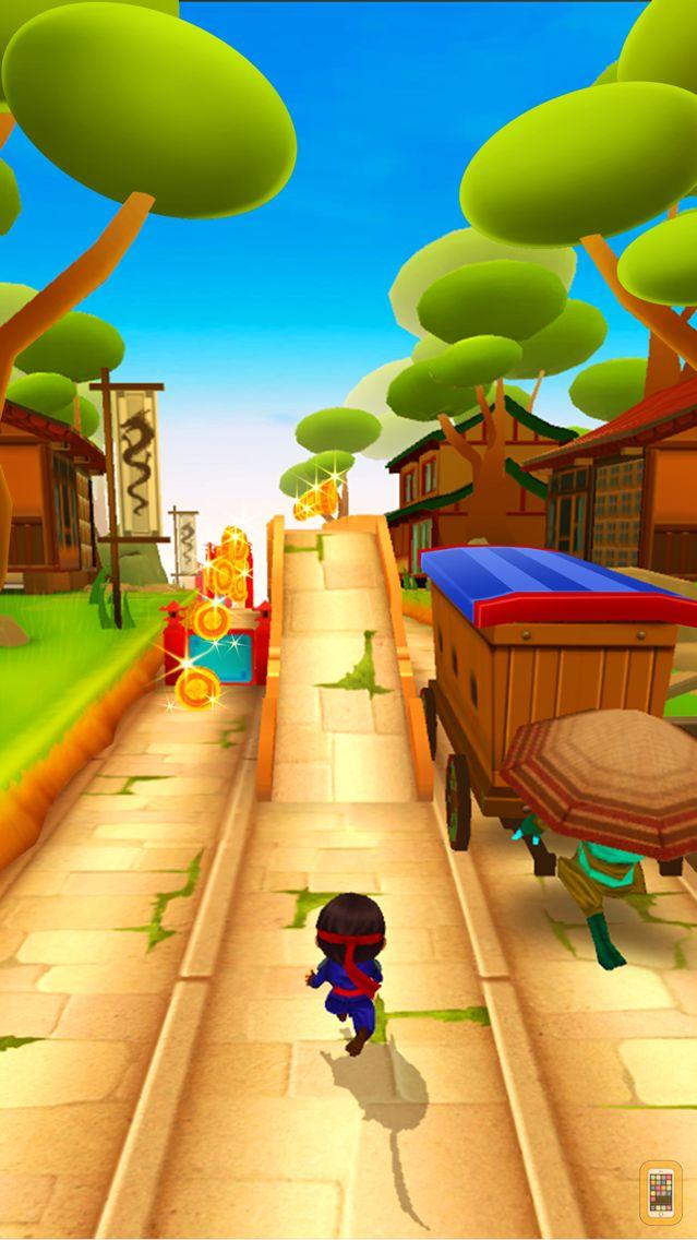 Screenshot - Ninja Kid Run VR: Fun Games