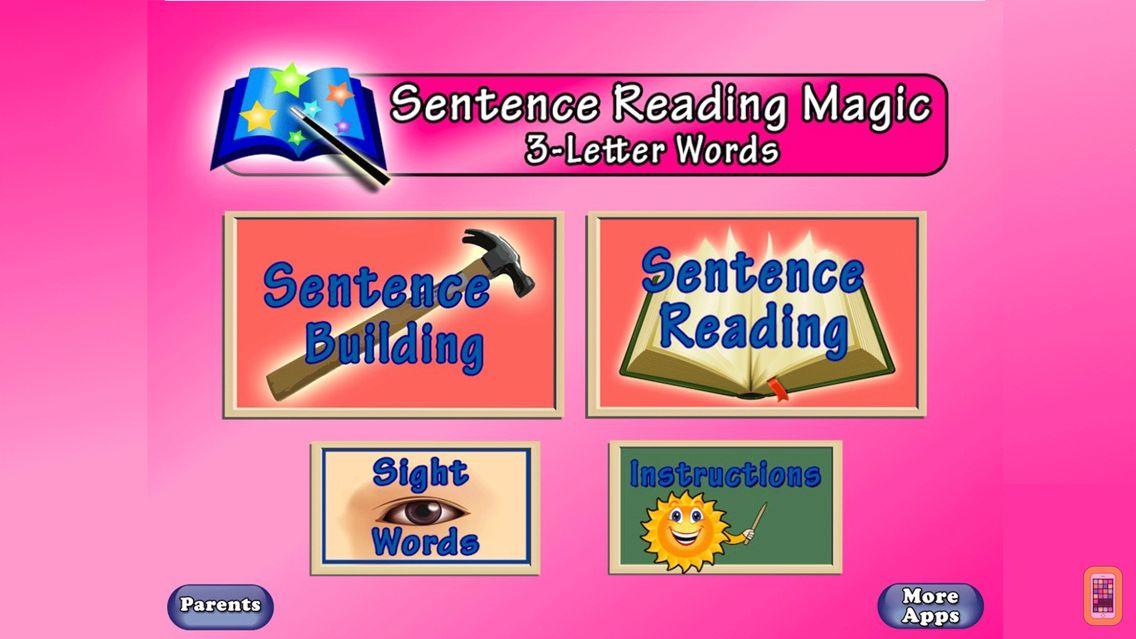 Screenshot - Sentence Reading Magic Deluxe for Schools-Reading Short Vowel CVC words