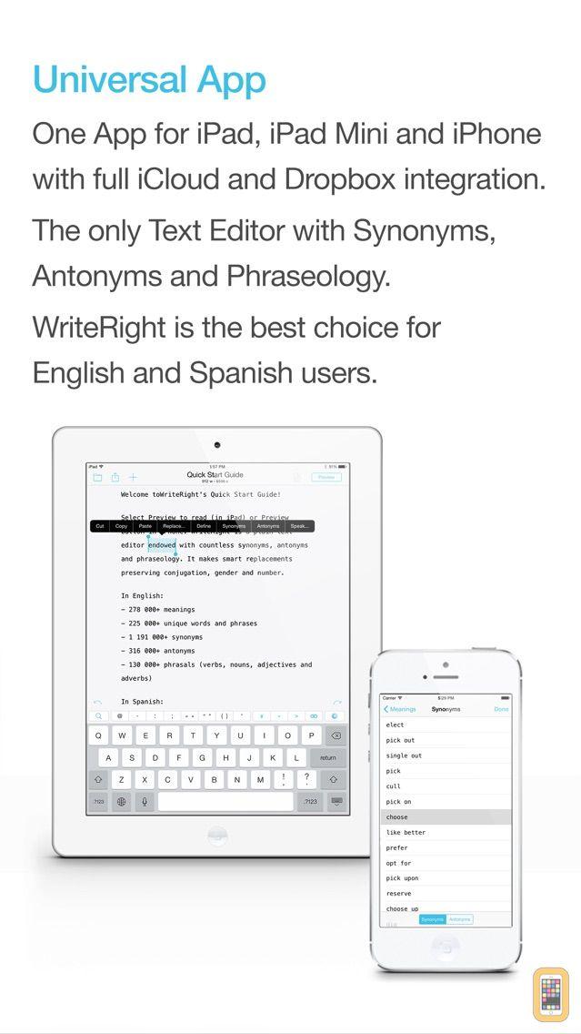 Screenshot - WriteRight: enjoy writing