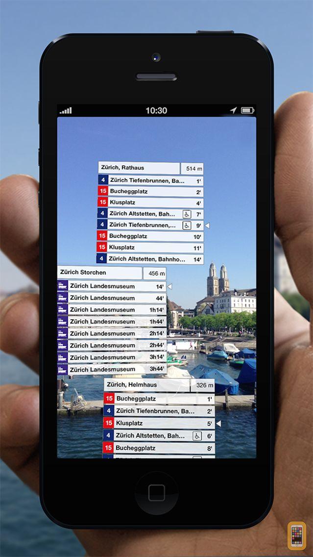 Screenshot - Departures Switzerland